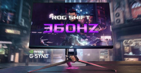 ASUS Teases New ROG Swift Gaming Monitor Capable of 360Hz G-Sync Variable Refresh Rate at CES 2020