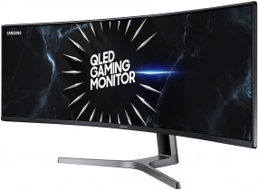 "Ultrawide Samsung CRG9 49""120hz 1440p QHD gaming monitor new price set at $1088"